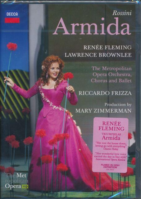 Rossini Armida DVD NEW Renee Fleming Lawrence Brownlee metropolitan Opera Frizza