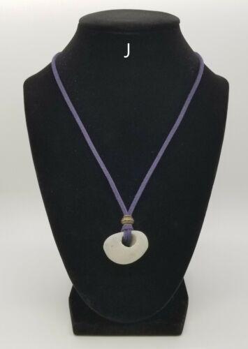 Hag Stone Protection Amulet Necklace (Natural Hole)