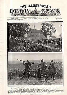 1917 London News September 8   Anarchy On The Russian Front  Leninist Agitators