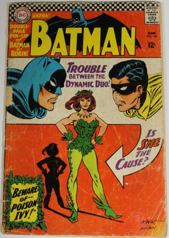 Batman 181 1st Appearance Poison Ivy KEY Issue Comic