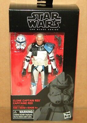 "CLONE CAPTAIN REX #59 Black Series Star Wars 6"" Action Figure Clone Wars 2018"