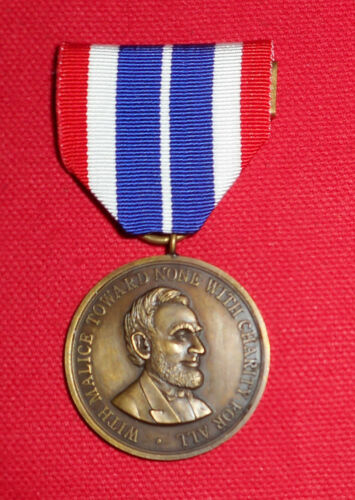 Civil War Campaign Medal with 1st type ribbon