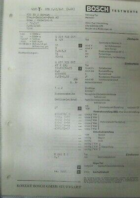 * Steyr Daimler Puch 650 TR 2 Europa 1966  Einstelldaten Datenblatt Service