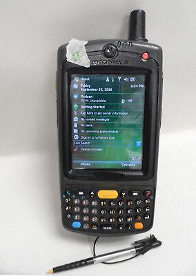 Motorola Symbol Pocket PC Barcode Scanner MC70 MC7598 PYFSUQWAWR w/Battery Motorola Pocket Pc