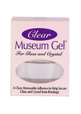 Ready America QuakeHold Clear Museum Gel Adhesive For Glass,Crystal, Antiques Clear Museum Gel