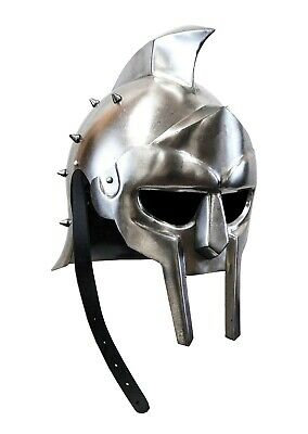 pair bracers Medieval Warrior stainless steel Armor Larp Ren Faire Gothic