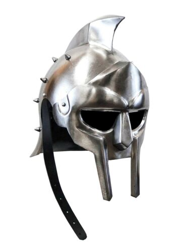 Medieval Gladiator Movie Replica Helmet Warrior Armor Knight Adult Costume