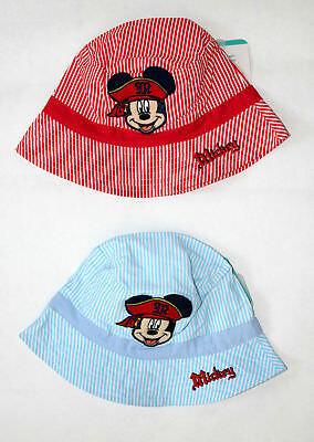 Disney Mickey Mouse Jungen Fischermütze Gr.48-50 Fischerhut  Sommermütze neu!