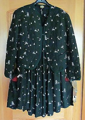 Wertvolles Hammerschmid Trachtenkostüm, Rock und Steppjacke Größe 40, - Jack Hammer Kostüm