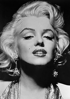 Marilyn Monroe Vintage BOX CANVAS Art Print Black & White - All Sizes Canvas Art Print Box