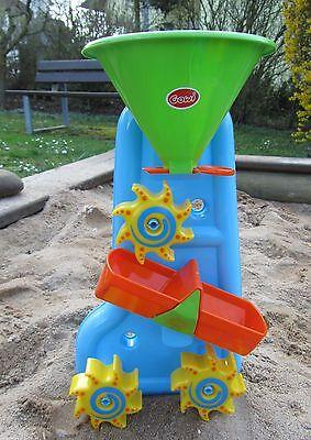 """Gowi Badewannen Wassermühle Sandkasten Spielzeug """"Hohe Qualität"""" 559-41"""