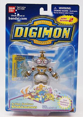 Digimon - Digital Monsters - Action Feature - Shakkoumon - ca. 8cm