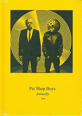 Pet Shop Boys, New & Sealed Book Annually 2018 = Literally 44/ UK