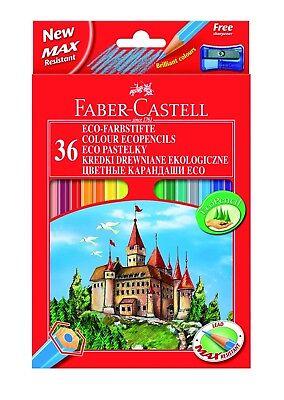 bstifte Buntstifte Malstifte mit Spitzer 36er Etui Eco (Faber Castell Buntstiften)
