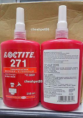 Loctite 271 Red - High Strength Thread Locker 250ml - 1 Bottle