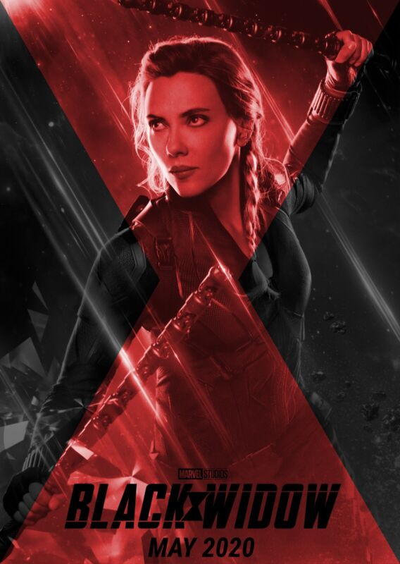 "Black Widow ( 11"" x 17"" ) Movie Collector"