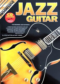 Wanted: Jazz Guitar by Progressive, Book & CD tutorials
