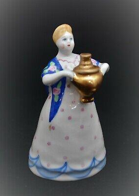 Soviet Porcelain Vintage decor figurine folk Dancers Vintage ceramic Collectible porcelain mini figurine Dancers art ceramics Soviet Union