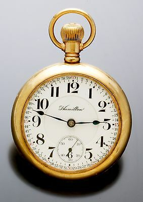 HAMILTON 946 RAILROAD POCKET WATCH C1906 | 23 JEWEL, 18 SIZE, OFFICIAL RAILROAD