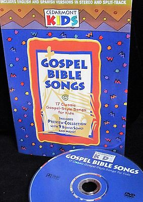 CEDARMONT KIDS Gospel Bible Songs  DVD ,Sing A long Bible songs , Church, Home  ()