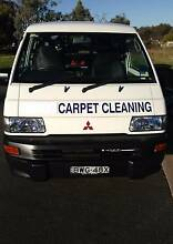 2011 Mitsubishi Express Van fitted with Carpet Steam Cleaner. Albury Albury Area Preview
