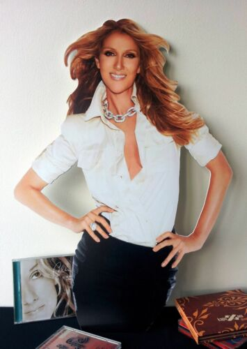 Celine Dion Display STAND Standee NEW Loved Me Back to Life Breakaway Incredible