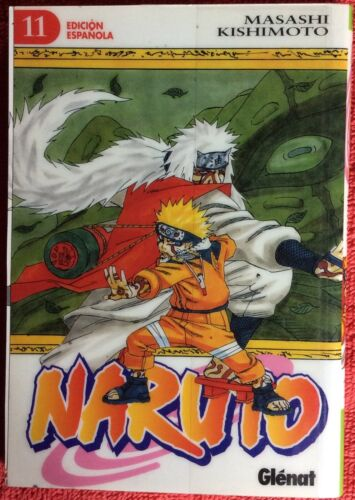 NARUTO BOOK 11 JAPANESE ANIME SPANISH ESPANOL EDITIONHARDCOVER
