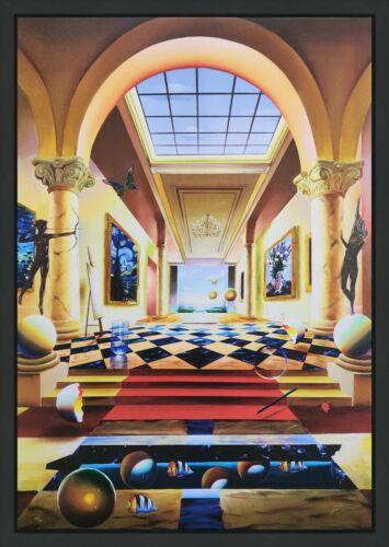 "Ferjo ""hall Of Fame"" 2005   Signed Giclee On Canvas   Large 40x28""   Framed"