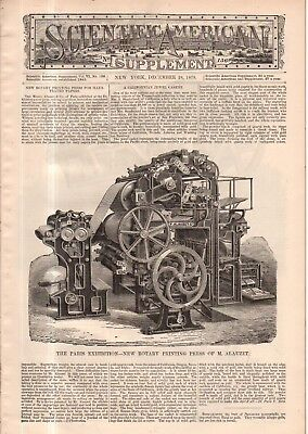 1878 Scientific American Supp December 28 Automated Fortune Teller  Wells  Index