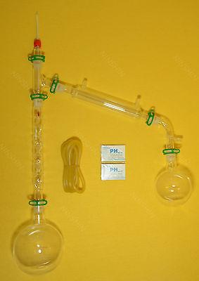 1000ml Lab Glassware Kit2429vacuum Distillation Kit With Vigreux Column
