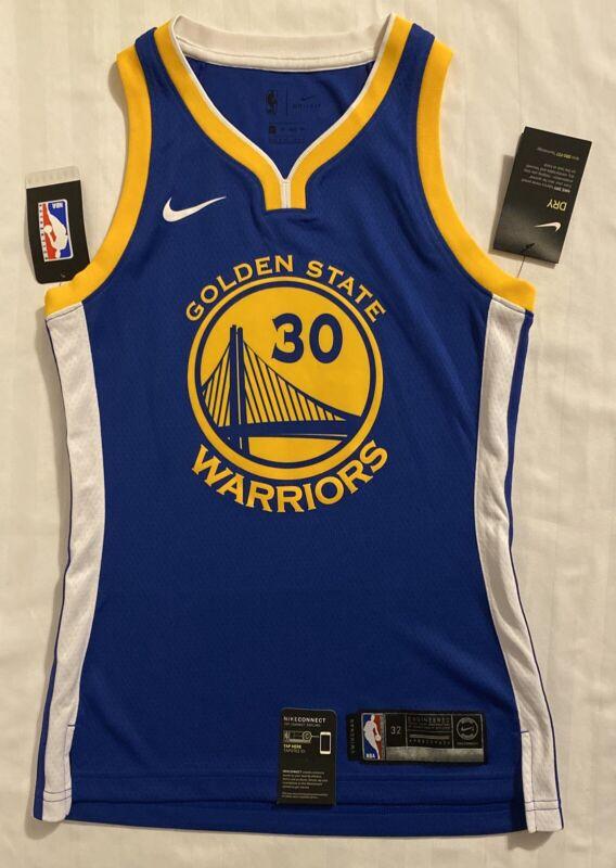 Nike Golden State Warriors Curry Swingman Jersey. Women's Size: XSmall/32