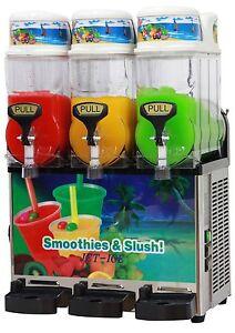 3 Bowl Slush Machine Triple x 12 litre Slushie Cocktail Unit Frankston South Frankston Area Preview