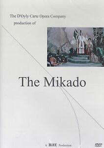 [NEW] DVD: THE MIKADO: THE D'OYLY CARTE OPERA COMPANY