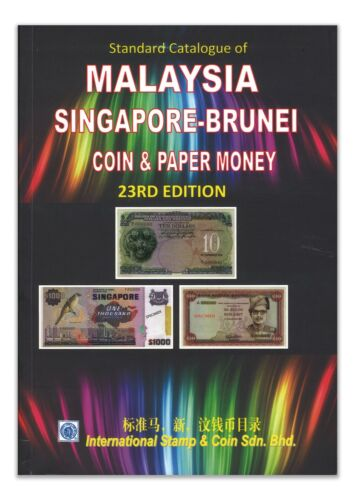 Malaysia Singapore Brunei Coin & Banknote Catalogue 23rd Edition 2019-2021 New