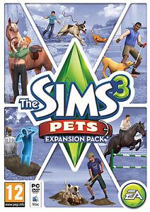 The Sims 3: Pets Expansion (PC/MAC, Region-Free) Origin Download KEY
