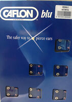 Genuine Caflon 12 Pairs 24ct Gold Tone Crystal 4mm Ear Piercing Studs April - caflon - ebay.co.uk