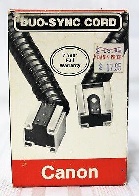 Canon Duo-Sync Cord