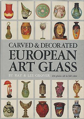 European Art Glass Makers Types - French German English Swedish Austrian../ (German Glass Makers)