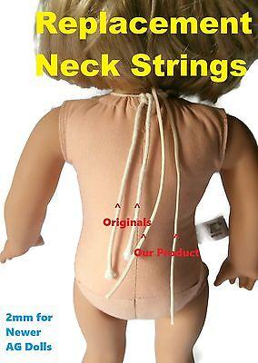 2mm Neck String fits Newer American Girl Dolls