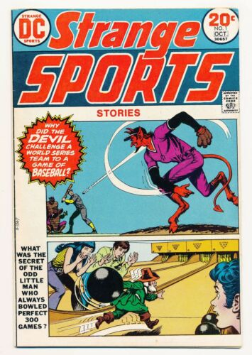 Strange Sports Stories (1973) #1-6 Complete series VG- to NM-