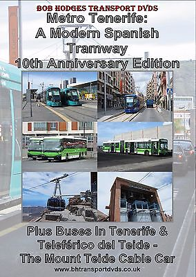 Metro Tenerife, A Modern Spanish Tramway + buses & cable car DVD