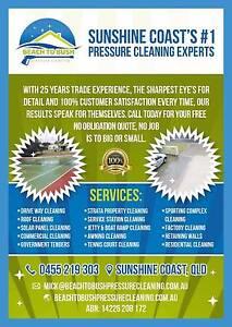 BEACH TO BUSH PRESSURE CLEANING Maroochydore Maroochydore Area Preview