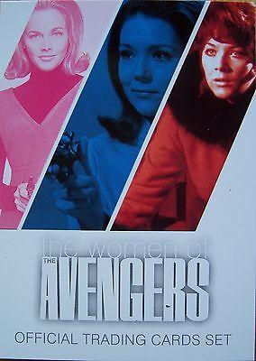 The Women Of Avengers Basic Base Trading Card Set