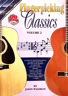 Wanted: Fingerpicking Classics by Progressive, Book & CD