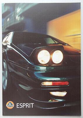 V21154 LOTUS ESPRIT V8 GT - V8 GT SE - DEPLIANT - NON DATE - A4 - GB D IT FR