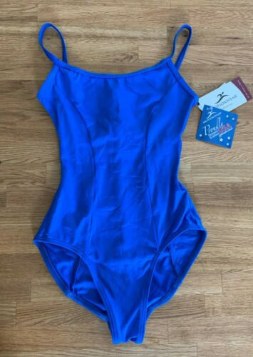 Motionwear Classic Camisole Leotard Dance Ballet Gymnastics Small Adult - NEW