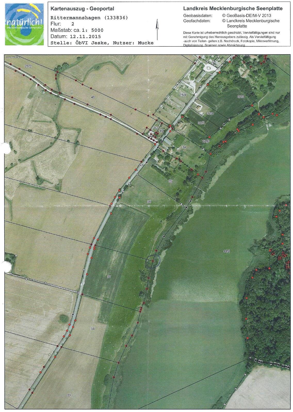 unbebautes Seegrundstück, 4,7 ha, LK-MSE / MV
