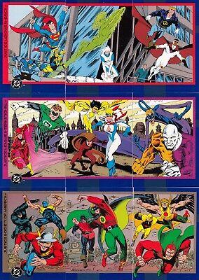 DC COSMIC TEAMS 1993 SKYBOX COMPLETE BASE CARD SET OF 150 COMIC