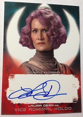 Topps Star Wars 2018 The Last Jedi Series 2 Laura Dern Vice Admiral Holdo 56 99