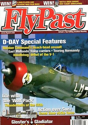 Flypast Magazine 2004 June North Witham,P-47 Thunderbolt,Suez,Gladiator,D-Day